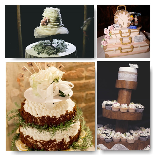 Which will your wedding cake for your wedding in Tuscany?