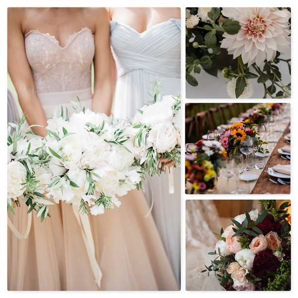The Wedding Color Palette