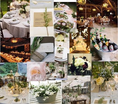 Organize a shabby chic styled wedding in Tuscany