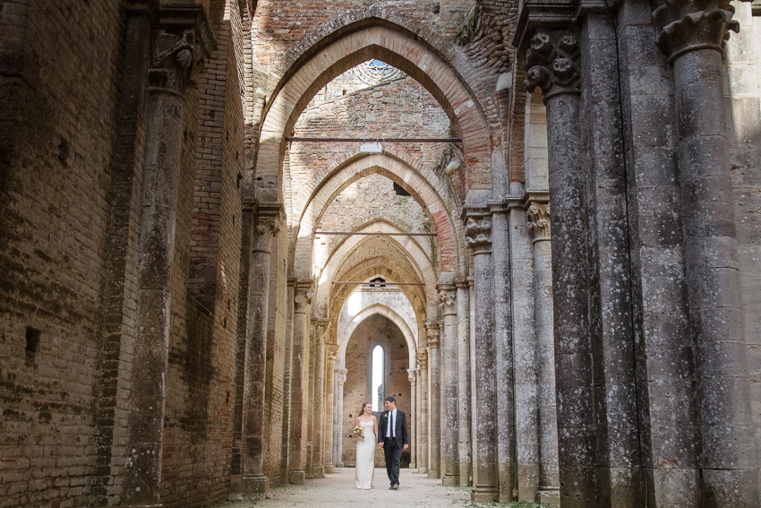 San Galgano for your wedding in Tuscany