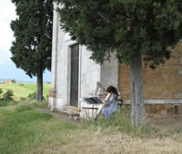 Harpist 3 for Wedding Proposal in Tuscan Countryside