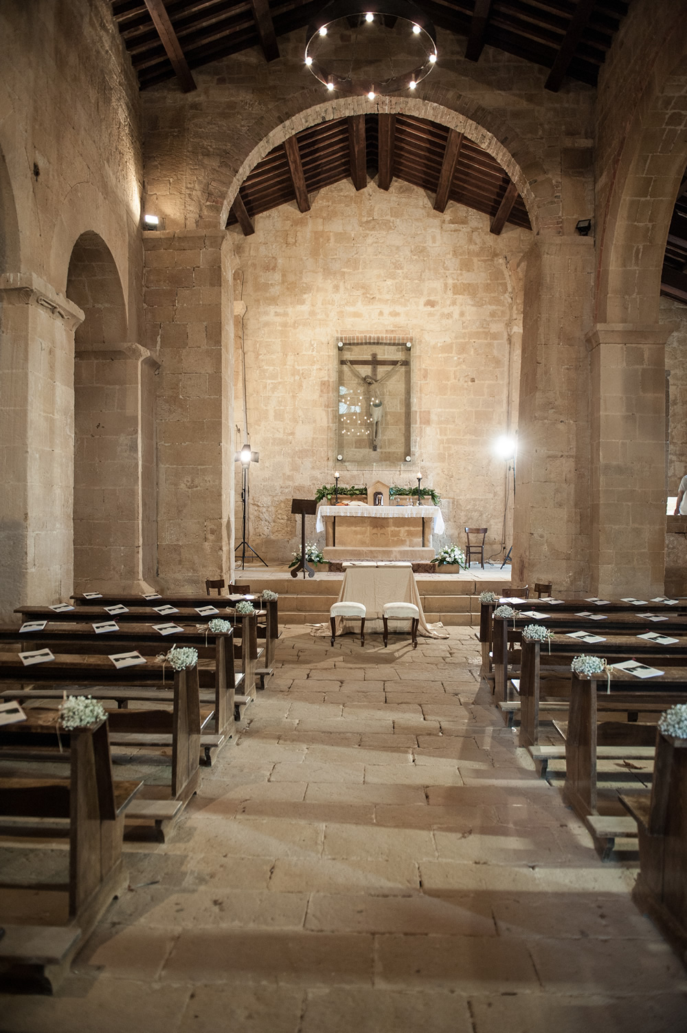 Wedding Church in Pienza