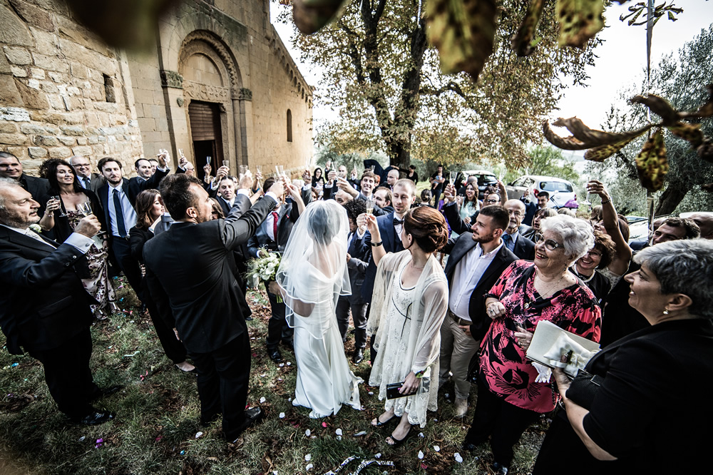Getting married in pienza