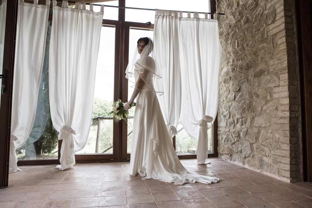 Wedding in an hamlet in Tuscany