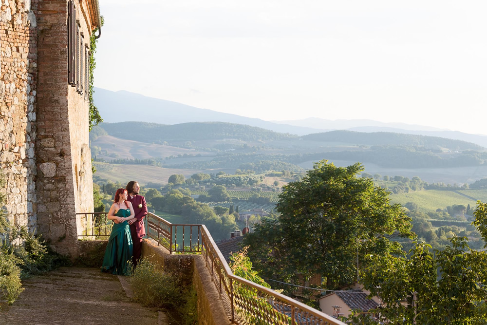 wedding in Montepulciano
